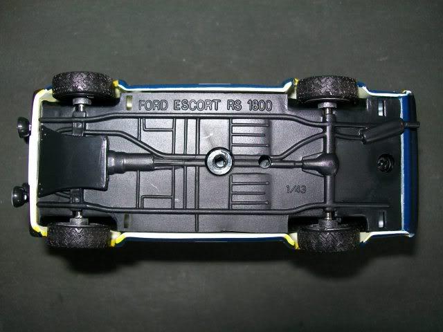 Ford Escort MKII RS 1800. Ixo-Altaya. Juanh Racing Team 102 100_4343