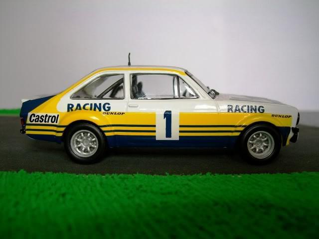Ford Escort MKII RS 1800. Ixo-Altaya. Juanh Racing Team 102 100_4347