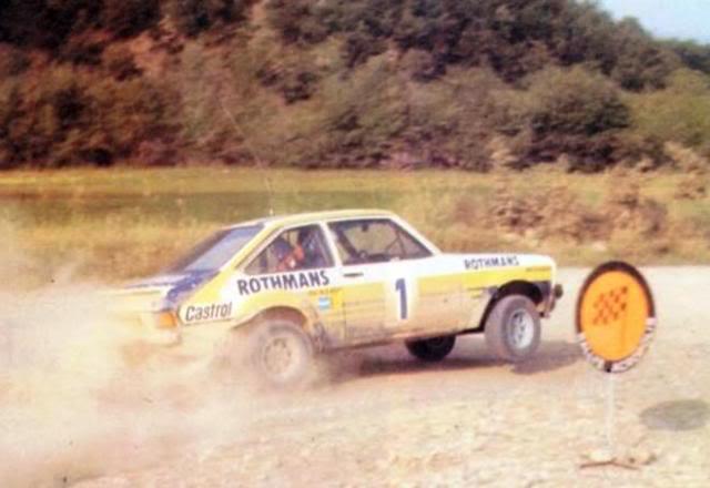 Ford Escort MKII RS 1800. Ixo-Altaya. Juanh Racing Team 102 1Acropole201979
