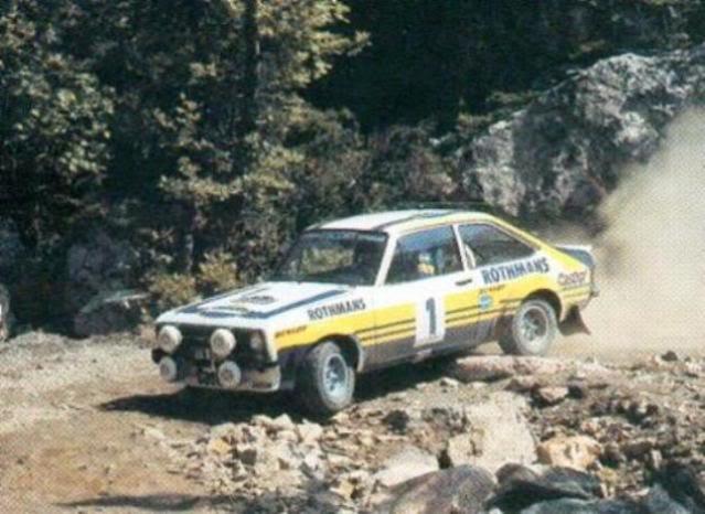 Ford Escort MKII RS 1800. Ixo-Altaya. Juanh Racing Team 102 1Waldegard_Acropolis