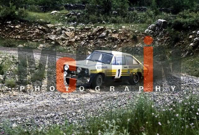 Ford Escort MKII RS 1800. Ixo-Altaya. Juanh Racing Team 102 790528GRWaldegard5rk