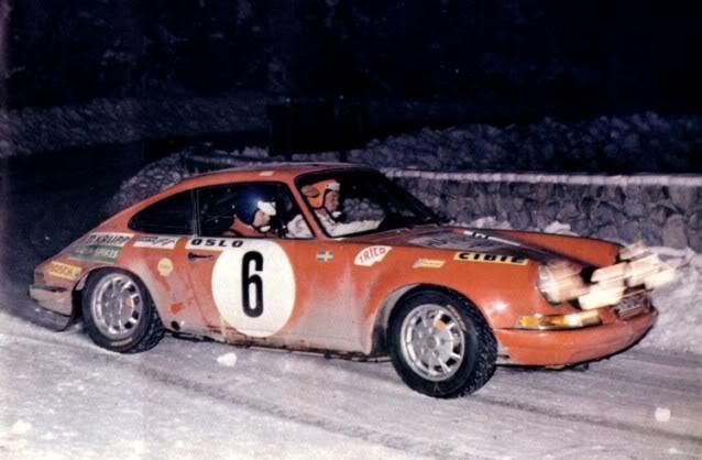 Porsche 911S. Ixo-Altaya. Juanh Racing Team 059 Waldegard1