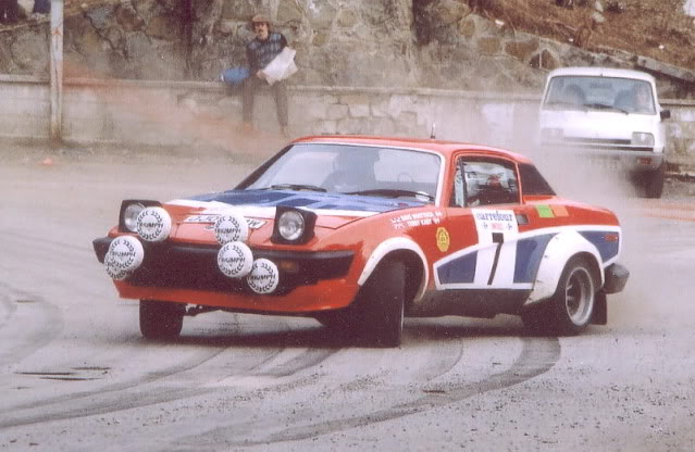 Triumph TR7 V8. Ixo-Altaya. Juanh Racing Team 002  KabyAlpin81