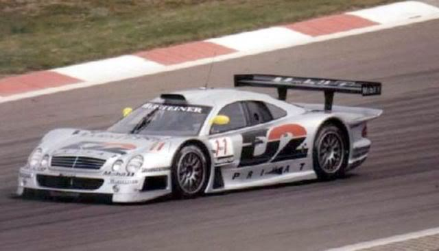 Mercedes Benz CLK GTR. High Speed. Juanh Racing Team 008 Nurburgring-1997