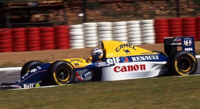 Williams FW15C Renault. Ixo-Altaya. Juanh Racing Team 012  WillF10255