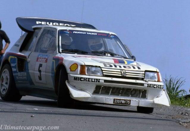 Peugeot 205 Turbo 16 E2. Ixo-Altaya. Juanh Racing Team 007  Ggkg