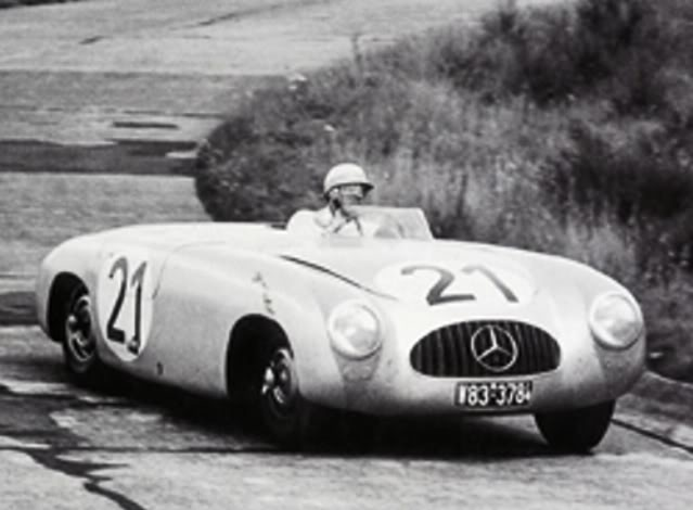 Mercedes Benz 300 SL Spider. New Ray. Juanh Racing Team 077 Rolextime250
