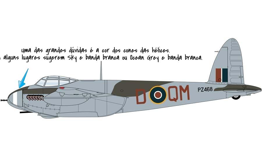 De Havilland Mosquito XVIII 1/72 Airfix 7fc0416a-6bc9-4be6-97da-db3468618502