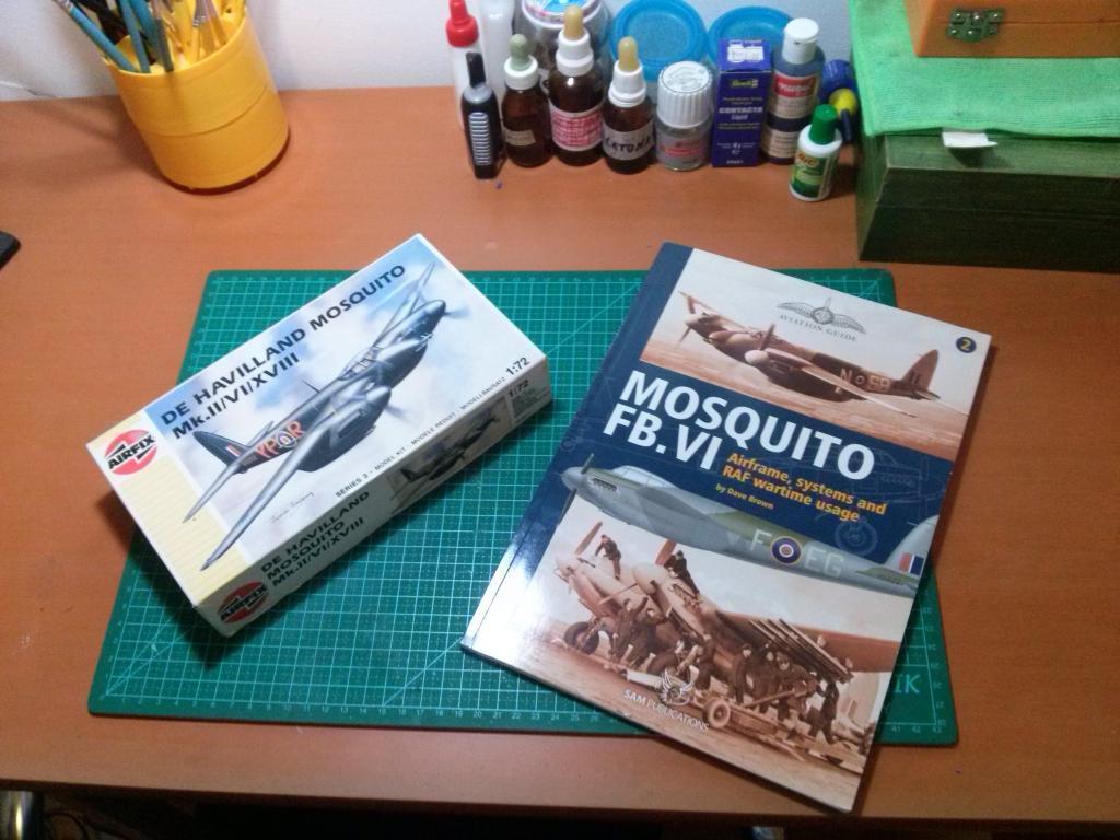 De Havilland Mosquito XVIII 1/72 Airfix CAM00050