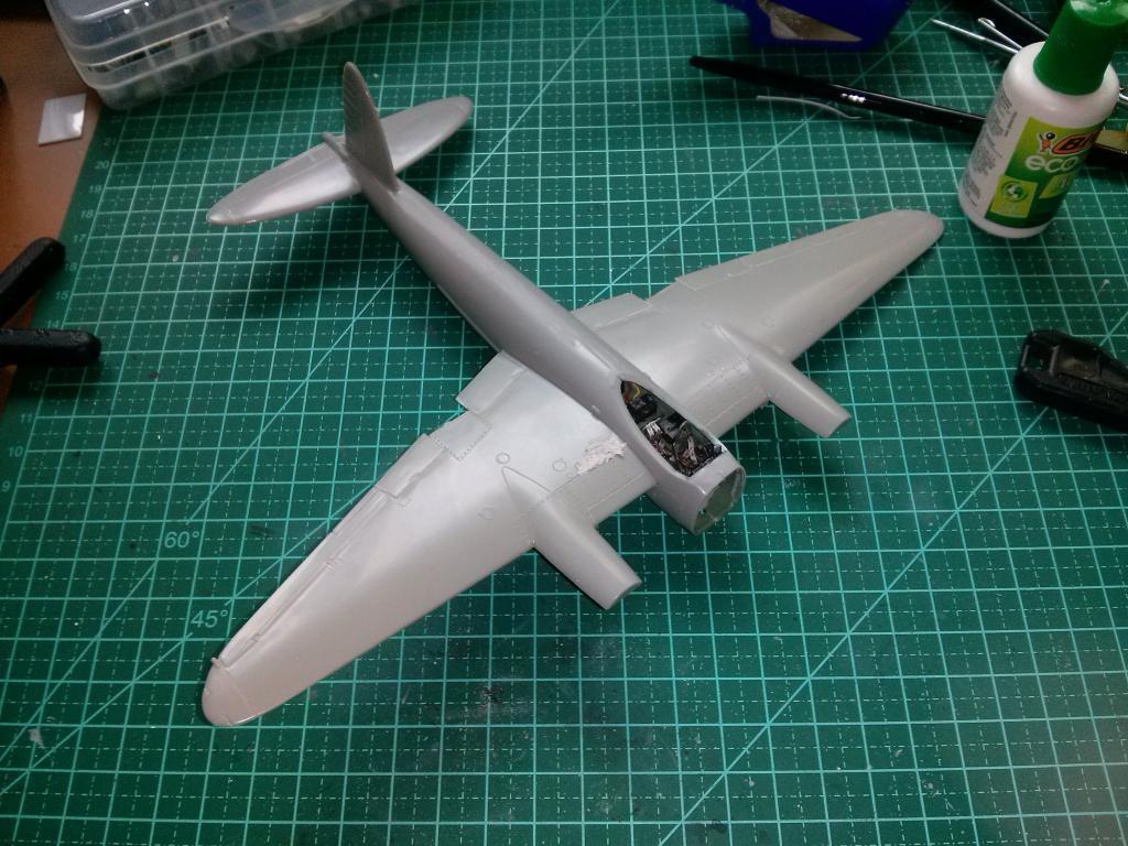 De Havilland Mosquito XVIII 1/72 Airfix CAM00100