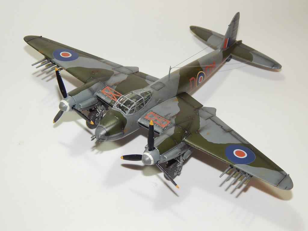 De Havilland Mosquito XVIII 1/72 Airfix DSCN3234