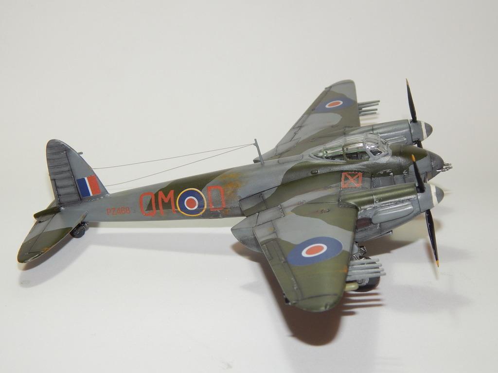 De Havilland Mosquito XVIII 1/72 Airfix DSCN3256