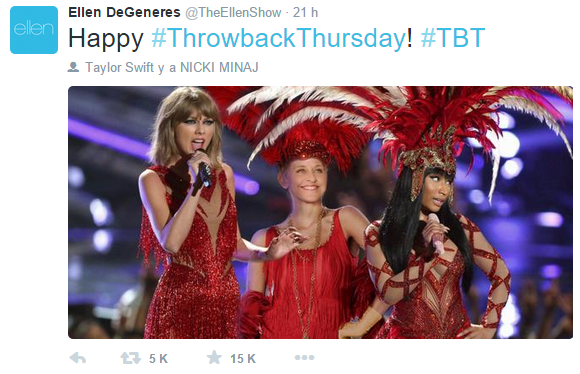 Promoción era 'The Pinkprint' (atuaciones, entrevistas, publicidad, etc.)   VMAs 2015, pág. 8   - Página 9 Sin%20tiacutetulo_1