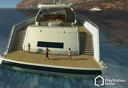 PlayStation Home Locations. Boat11