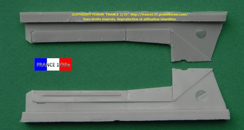 AMX 30B Conversion set for Greek, Chypriot and Qatari version. Slingshot Models, 1/35, ref SSM 35003. Résine. FRANCE135_CONVERSION30BGRECCHYPREQATAR_SLINGSHOTMODELS_1-35_REFssm35003_05_zpsda1748e2