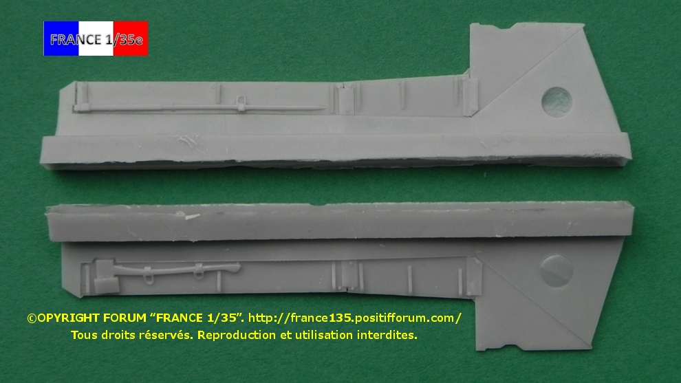 AMX 30B Conversion set for Greek, Chypriot and Qatari version. Slingshot Models, 1/35, ref SSM 35003. Résine. FRANCE135_CONVERSION30BGRECCHYPREQATAR_SLINGSHOTMODELS_1-35_REFssm35003_06_zps2118f132
