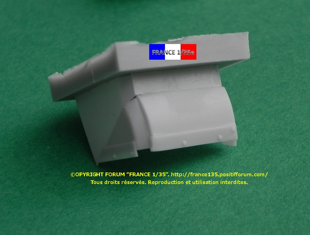 AMX 30B Conversion set for Greek, Chypriot and Qatari version. Slingshot Models, 1/35, ref SSM 35003. Résine. FRANCE135_CONVERSION30BGRECCHYPREQATAR_SLINGSHOTMODELS_1-35_REFssm35003_07_zps3516750a