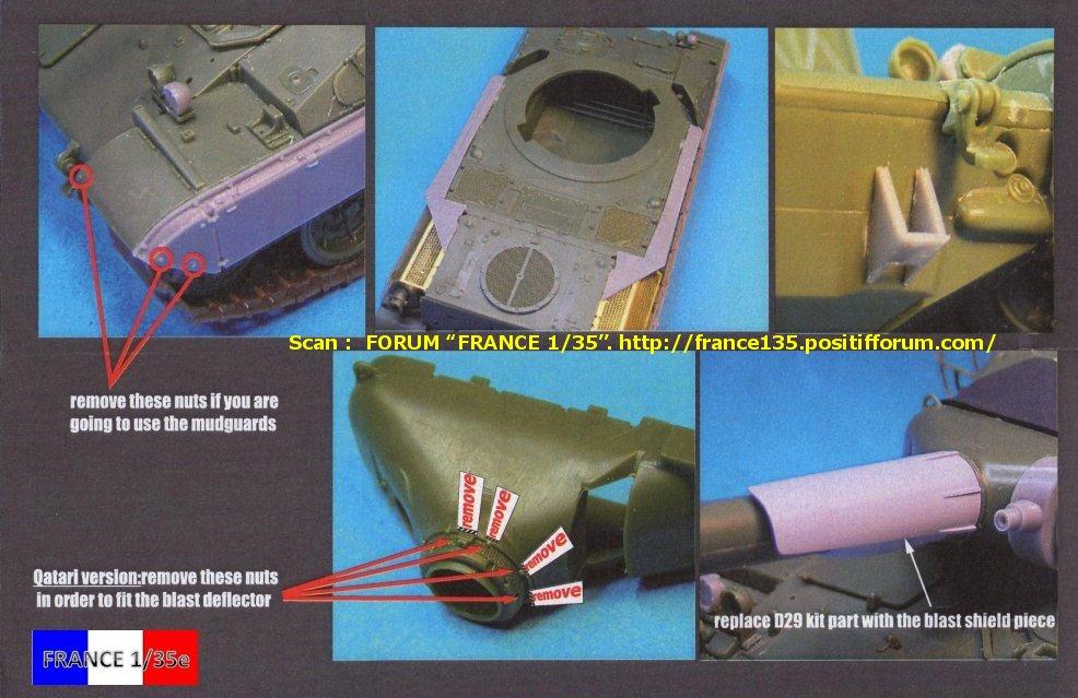 AMX 30B Conversion set for Greek, Chypriot and Qatari version. Slingshot Models, 1/35, ref SSM 35003. Résine. FRANCE135_CONVERSION30BGRECCHYPREQATAR_SLINGSHOTMODELS_1-35_REFssm35003_14_zpsc3964d20