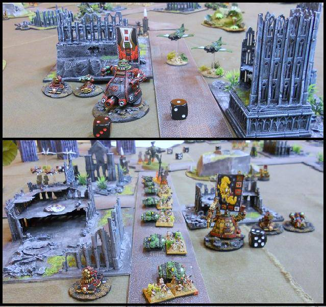 3000 pts - GI vs Orks 10-x4