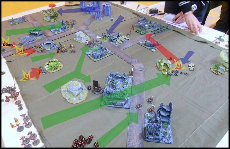 3000 pts - GI vs Orks 4-T1