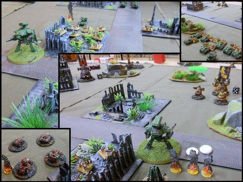 3000 pts - GI vs Orks 5-x1