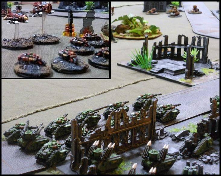 3000 pts - GI vs Orks 6-x2