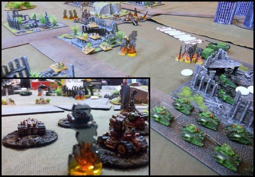 3000 pts - GI vs Orks 8-x3