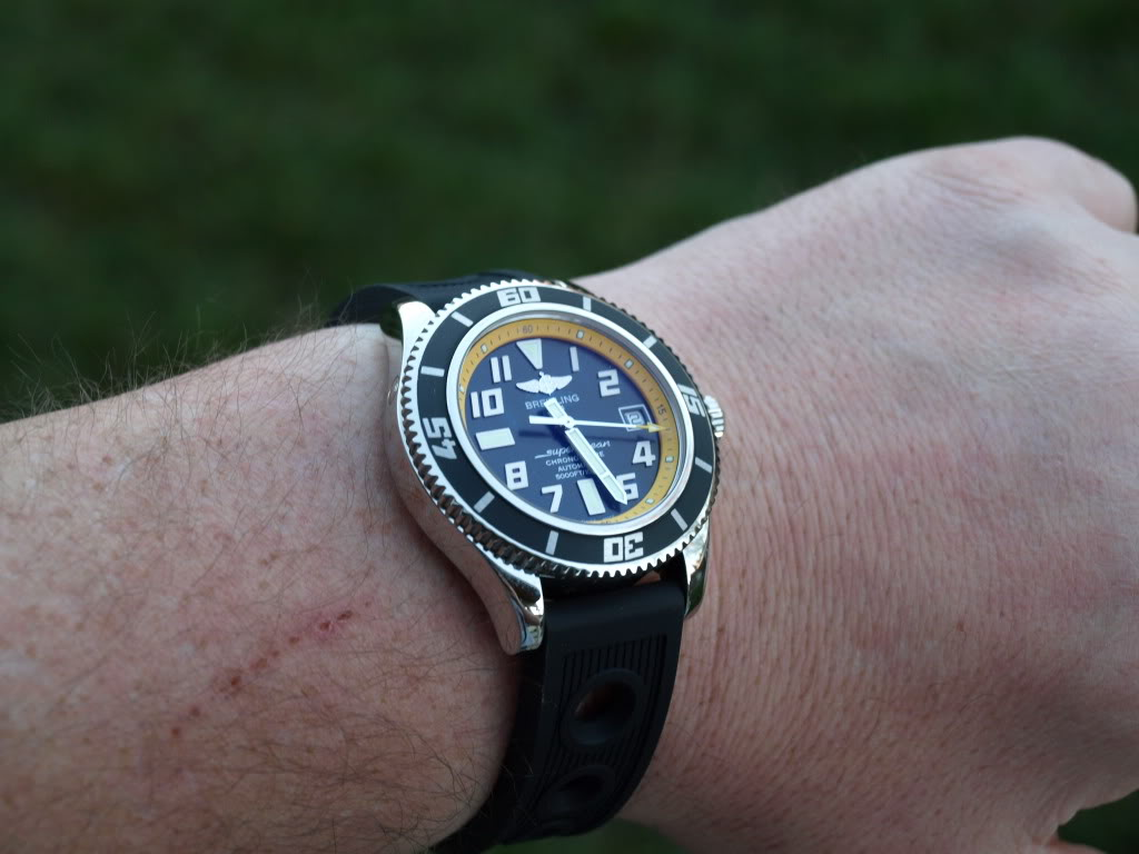 REVIEW BREITLING SUPEROCEAN ABYSS ( THIS IS A TRIAL REVIEW) P2125267so11