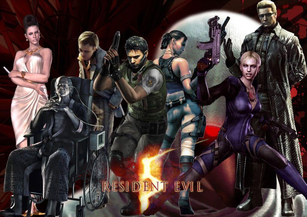 RESIDENT EVIL 5 Resident_Evil_5_Wallpaper_by_wesker