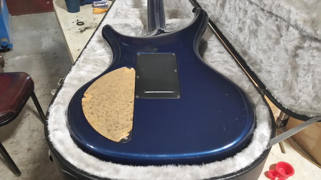 guitar - X390 Caspian Blue @ Guitar Center Cedar Rapids 20170223_101706_zps16jienmz