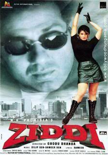 Ziddi 1997 dvdrip xvid watch online/dl (single link)  Ziddi1