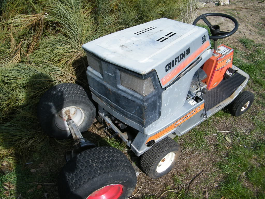 1989 craftsman mud tractor build up DSCF4019