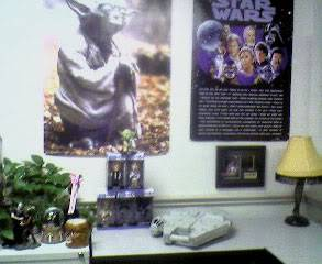 Star Wars Nerd Caves OfficeBack