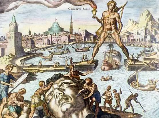 பண்டைய 7 உலக அதிசயங்கள் Colossus_of_Rhodes