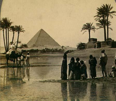 பண்டைய 7 உலக அதிசயங்கள் PyramidDatePalms