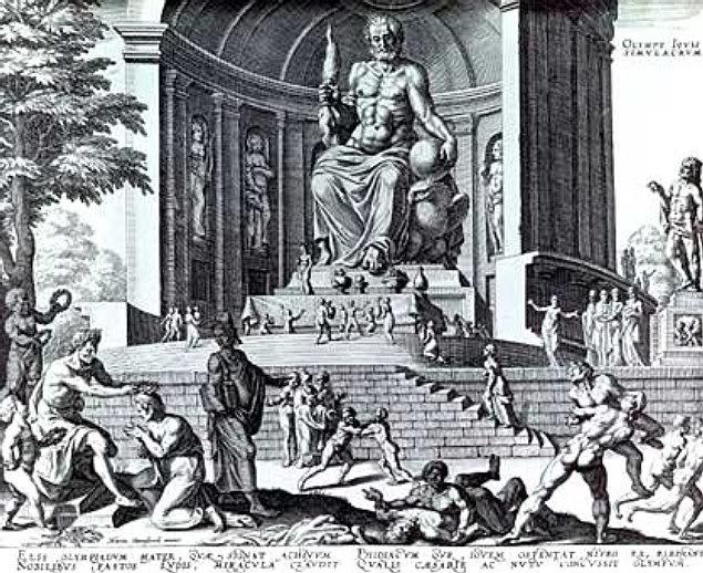 பண்டைய 7 உலக அதிசயங்கள் Statue_of_Zeus