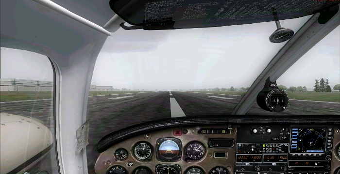 [FS9] Era para ser um voo VFR Vfr1