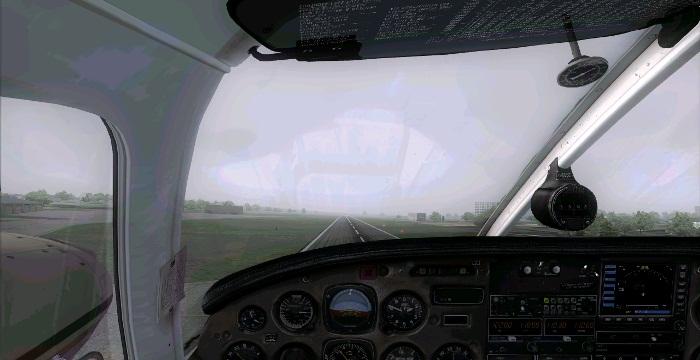 [FS9] Era para ser um voo VFR Vfr13