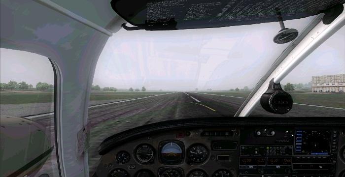 [FS9] Era para ser um voo VFR Vfr14