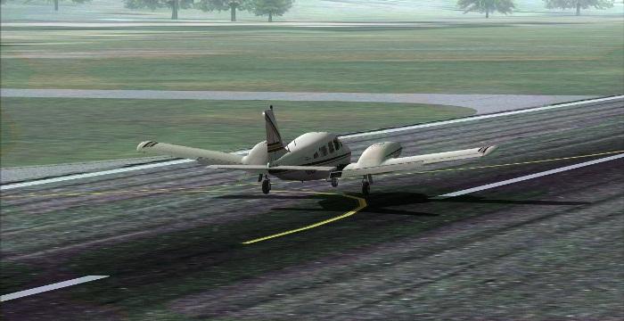 [FS9] Era para ser um voo VFR Vfr15