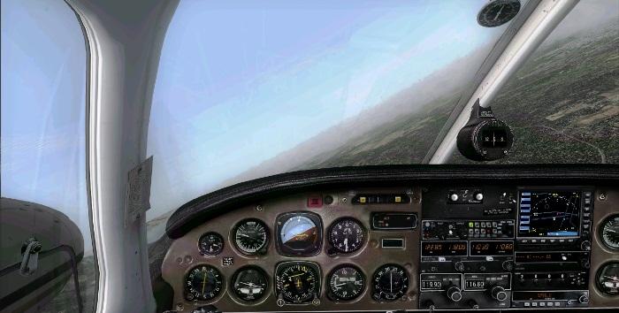 [FS9] Era para ser um voo VFR Vfr5