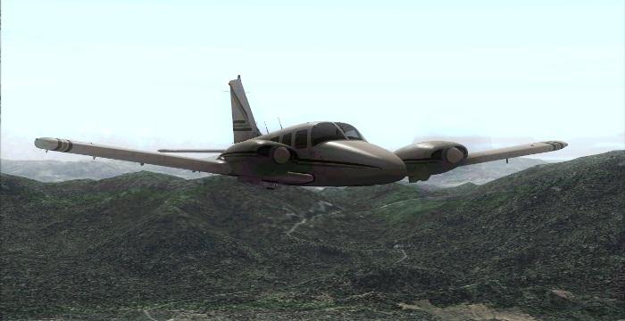 [FS9] Era para ser um voo VFR Vfr6