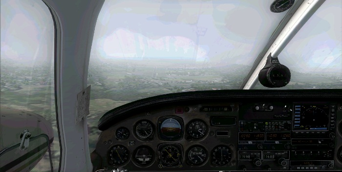 [FS9] Era para ser um voo VFR Vfr9