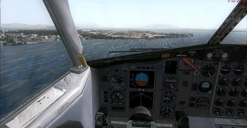 [FS9] 727 da Rio Cargo chegando no GIG Rio1