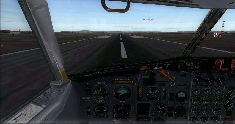 [FS9] 727 Rio Linhas Aéreas Confins - Campinas Rio18
