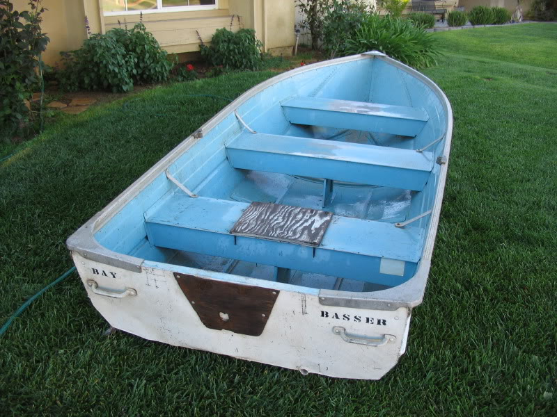 Trade 12 ft Aluminum boat for float tube Boat