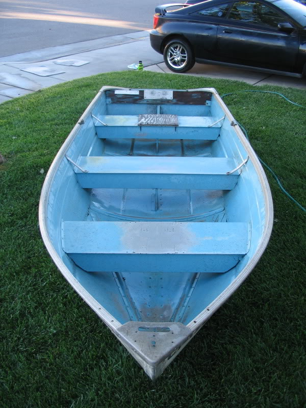 Trade 12 ft Aluminum boat for float tube Boatbowv