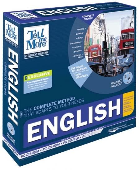 Tell Me More Englishاسطوانة TellMeMoreEnglish