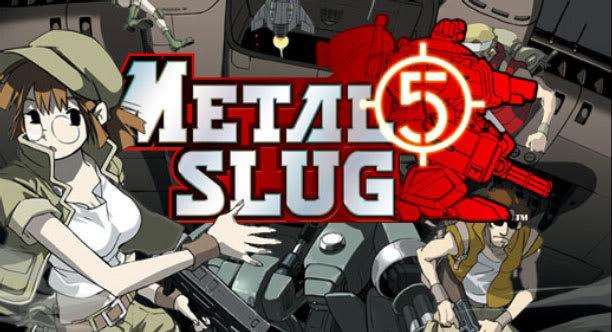 Neo Geo Metal Slug 1,2,3,4,5 Portable MetalSlug5PS2haut612