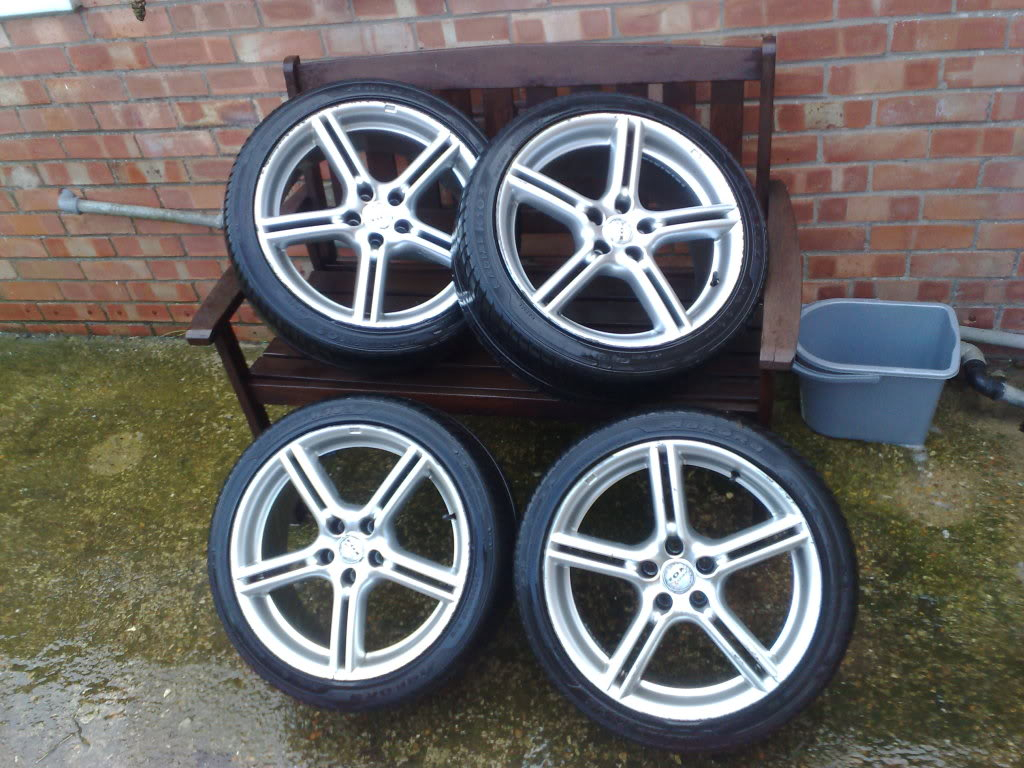 """17"""" ALLOY WHEELS AND TYRES £135 SOLD 15112008065"""